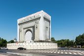 Repairs Of The Romanian Triumphal Arch