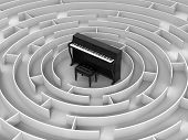Maze to Piano