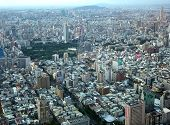 Aerial View Of Kaohsiung City In Taiwan