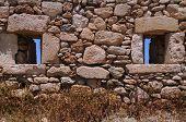 Piece Of Venetian Fortezza Wall In Rethymnon
