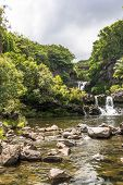 Waterfalls in Kipahulu, Maui
