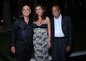 LOS ANGELES - SEP 13:  Robert Shapiro, Linell Thomas & Berry Gordy arrives to Brent Shapiro Foundation Summer Spectacular 2014  on September 13, 2014 in Los Angeles, CA