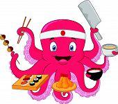 Octopus chef