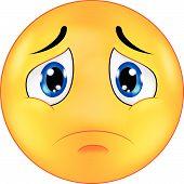 Sad emoticon
