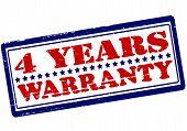 Four Years Warranty
