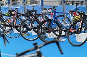 Lots Of Bicycles In The Transition Zone
