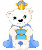 Polar Bear, Biblical Magi, the wise men follow the Star of Bethlehem