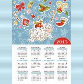 Year Of The Sheep Calendar