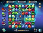 Illustration Fabulous Space With The Image Of The Game Screen With The Interface Of The Game Playing