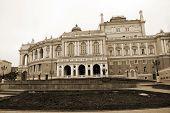 Opera theater in Odessa