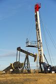 Servicing Oil Well