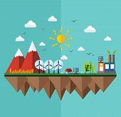 Ecology City Flat Concept