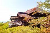 Tokyo, Japan- Oct 19 :kiyomizu Dera Buddhist Temple In Kyoto, Japan,