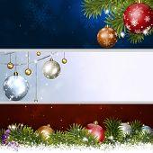 Holiday Christmas Banners