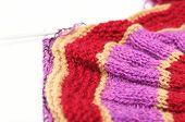 Color Handmade Needle Knitting