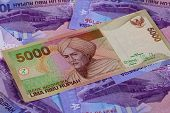 Different Rupiah Banknotes
