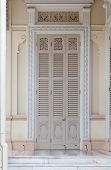 pic of throne  - Door of the Abhisek Dusit Throne Hall with Support Museum in Bangkok - JPG