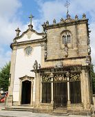 Coimbras Chapel In Braga, Portugal