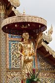 Wat Phra Sing In Chiang Mai; Thailand