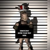 Democrat - Arrested