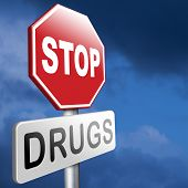 pic of addiction  - stop drug addiction no drugs addict cocaine heroin crack christal meth - JPG