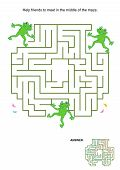 picture of maze  - Maze game for kids - JPG