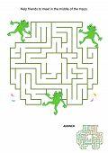 foto of maze  - Maze game for kids - JPG