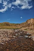 stock photo of assis  - Highland plateau Assy on the territory of Kazakhstan - JPG