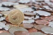 pic of twenty dollars  - New Zealand kiwi dollar currency coins money - JPG