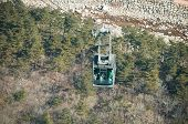 stock photo of seoraksan  - Cable car at Seoraksan National Park South Korea
