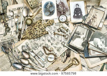 Antique Utensils Photos And News