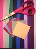 Construction Paper And Scissors