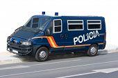 Carro de polícia na Europa (Espanha)