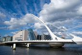 image of ireland  - The Samuel Beckett Bridge in Dublin - JPG