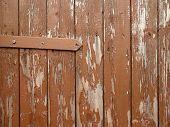 Old Brown Door Background