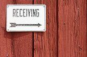 Barn Receiving Sign