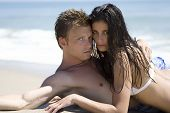 Couple On A Beach