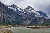 Постер, плакат: Parque Nacional Los Glaciares Patagonia Argentina