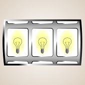 stock photo of light-bulb  - Bulb jackpot - JPG