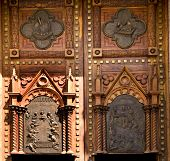 Wooden Church Doors Mexico