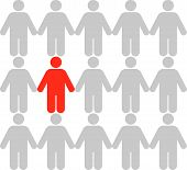 Business Concepts: Stand Out From The Crowd (3)