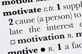 Motivate Word Dictionary Definition