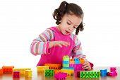 Preschooler Playing