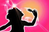 Cantante femenina.