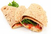 Organic Chicken Salad Wrap