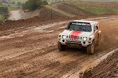Portalegre, Portugal - November 3: Miroslav Zapletal Drives A H3 Evo In Baja 500, Integrated On Fia