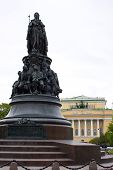 stock photo of courtier  - Russian Tsarina Catherine the Great and her minions - JPG