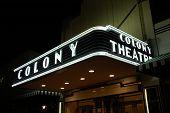 Colony Theatre Marquee