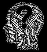 Mind intellectual concept.