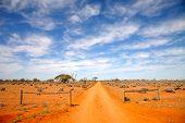 Outback carretera Australia